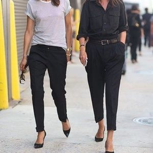 Perfect black editor pants!